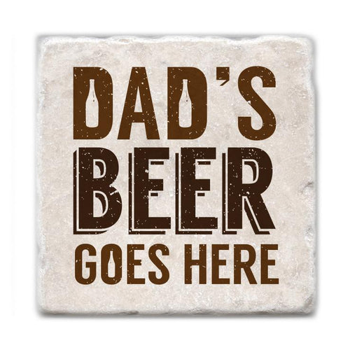 Dad's Beer Goes Here Coasters - Almonte, ON