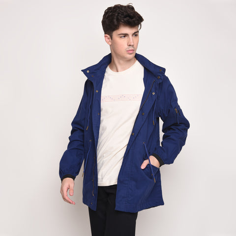 Skelly Topmod Parka in Brits Blue - Skellyshop Singapore | Skelly Ltd Jackets | skellyshop.co.uk