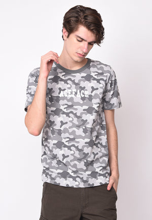 Ace Face Camo in Grey - Skellyshop Singapore | Skellyshop Singapore T-Shirts | skellyshop.co.uk