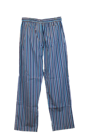 BedHead Pajamas - thermal tee with pant set seaport stripe