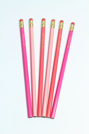 Shade of Pink (Pencil Set)