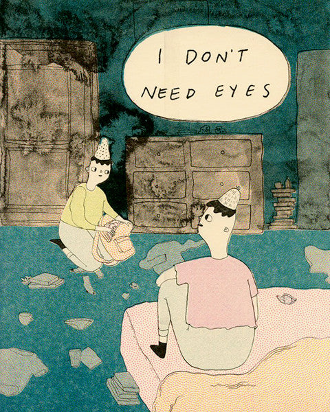 I Don't Need Eyes by Lindsay Anne Watson