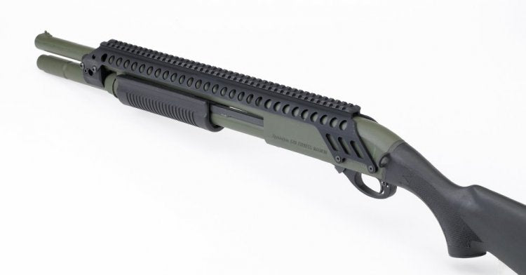 "MESA Tactical 20"" Saddle for Rail for Remington 870"