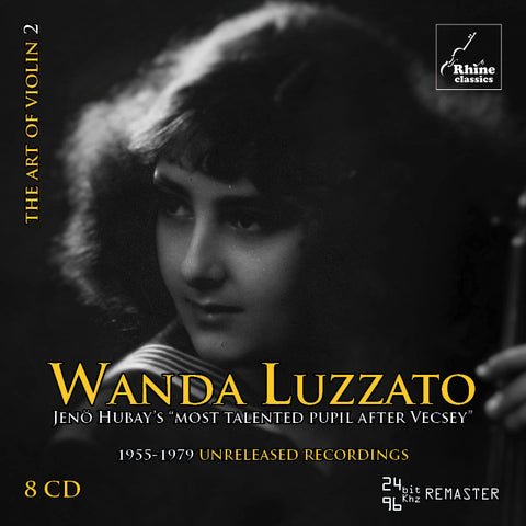 RH-002 | 8CD | Wanda Luzzato - complete private archive tapes