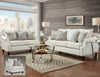 Bay Ridge Cream Sofa Group