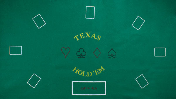 Texas Hold 'Em Felt Layout
