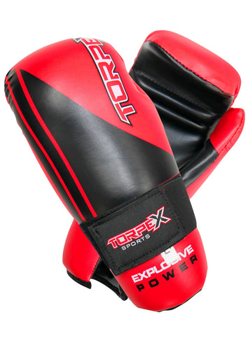 Red/Black Semi-Contact Gloves