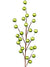 Metallic Berry Branch Spray - Box of 24 - Green