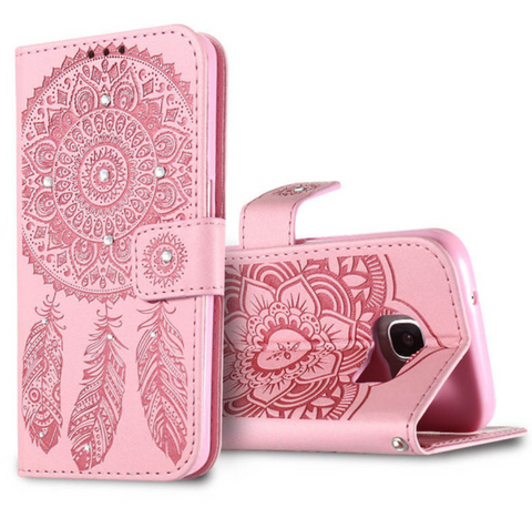 Mandala Dream Catcher iPhone Wallet Case