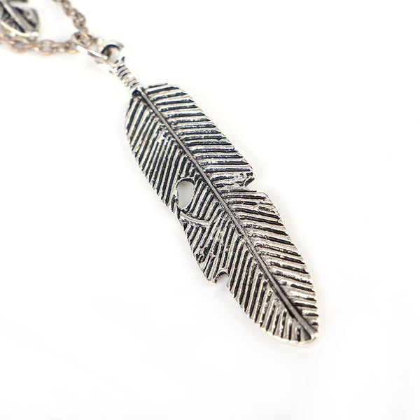 Feathers Multi-tier Necklace