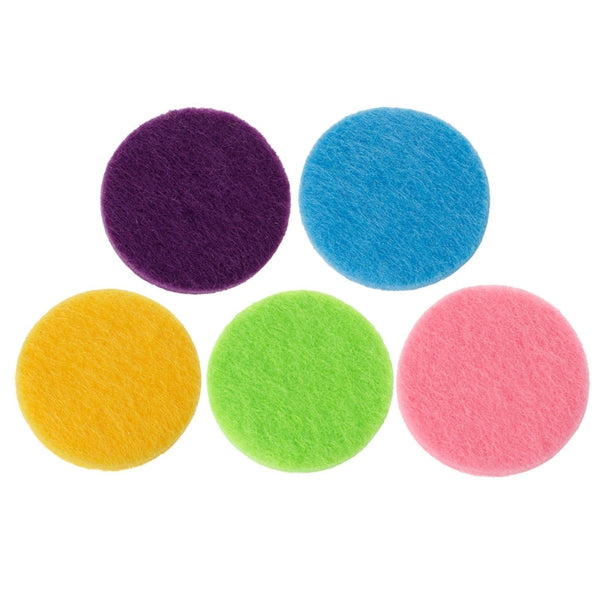 Refill Pads 20pc 30mm Same Color for Aromatherapy Diffuser Necklaces