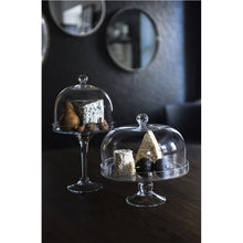 Tall Diamante Cake Stand with Dome - Gift Tree