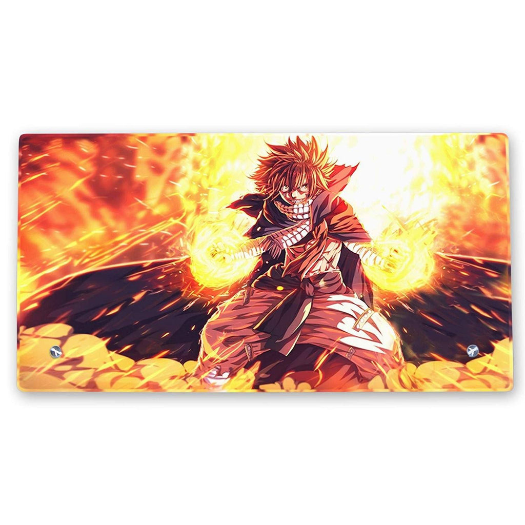 Fairy Tail – Natsu Glass Frame with Stand - Anime Senpai