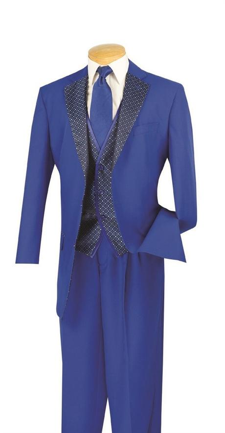 Vinci Men's  Suit 23PD-2-PUR-CLE