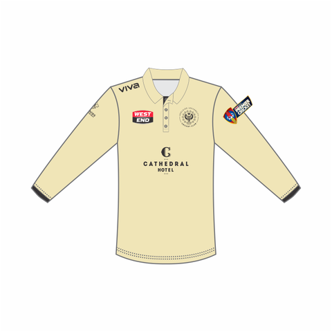 Adelaide University Cricket Club Two Day Match Polo (Long Sleeve)