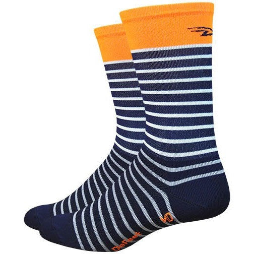 "Aireator Sailor 6"" Sailor Navy/ White/ Hi-Vis Orange"