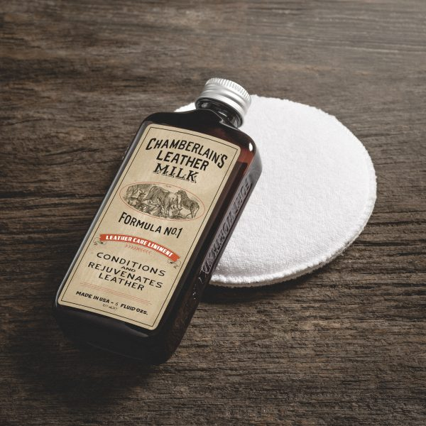 Leather Care Liniment No. 1 – Premium Leather Conditioner – Chamberlain Leather MILK