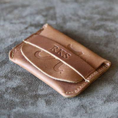 The Officially Licensed Alabama Fine Leather Front Pocket Wallet