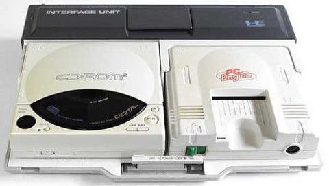 Nec Pc-Engine CD ROM 2 Retropixl Retrogaming retro gaming Rare Console Collector Limited Edition Japan Import