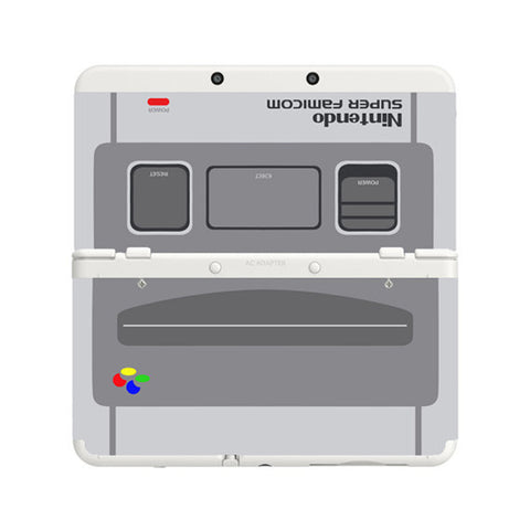 Nintendo 3DS LL Faceplate - Super Famicom LIMITED EDITION