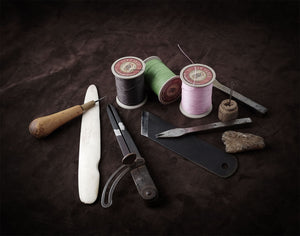 Which tools do I need for leather work?