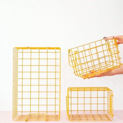 Mustard Made Baskets- in Mustard