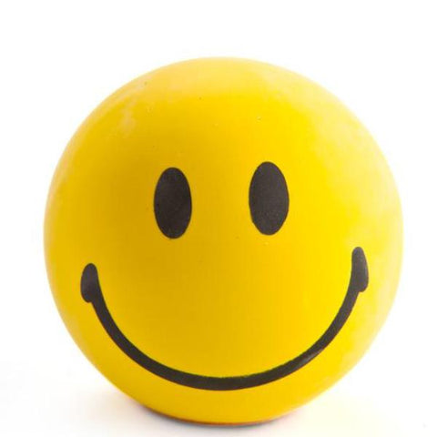 smiley stress - relief ball