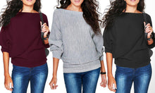 Women's Oversized Rib Jumper