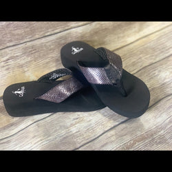Corky's Wedge Flip Flop