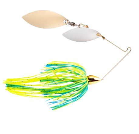 War Eagle 1/2 oz Screaming Eagle Gold Double Willow Spinnerbait