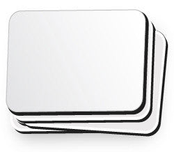 White Mouse Pads