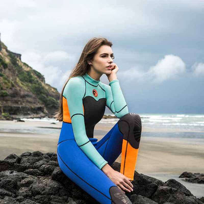 Women's One Piece 1.5mm Snorkeling Wetsuit