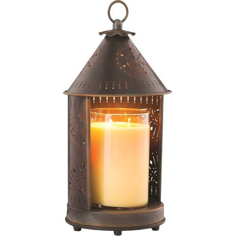 Sunshine Punched Tin Candle Warmer