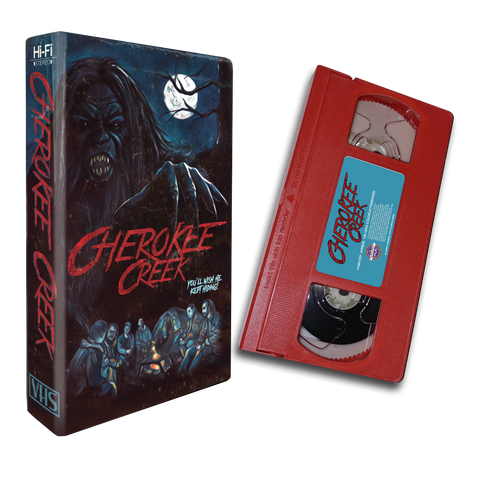 Cherokee Creek (SIGNED RED VHS)