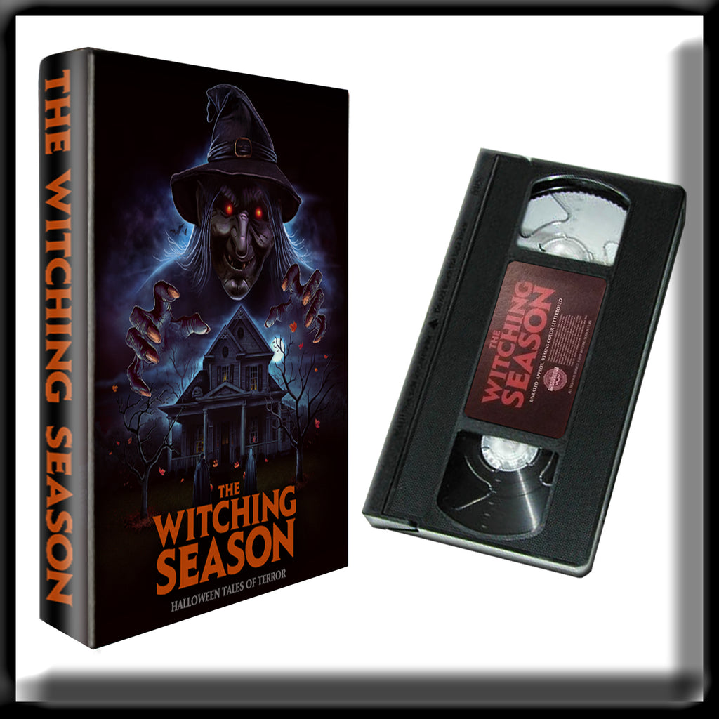 The Witching Season  (VHS) SIGNED BLACK VHS