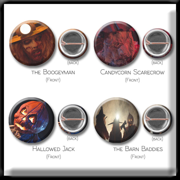 The Barn - Button Pack - Set of 8