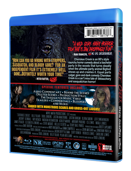 Cherokee Creek Special Collectors Edition Blu-ray