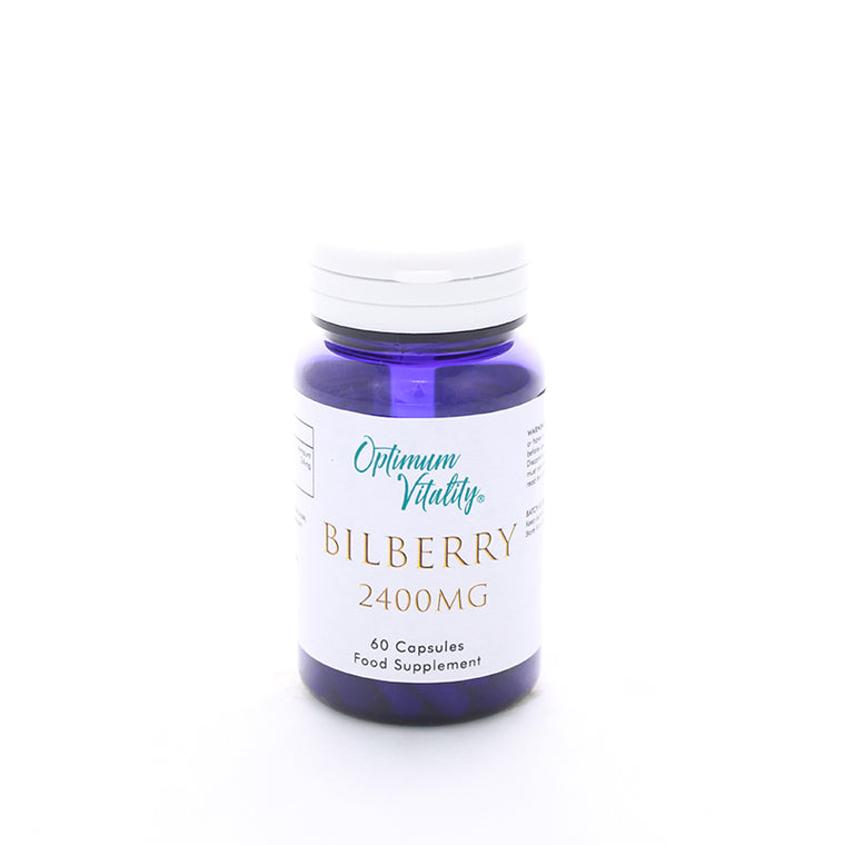 Bilberry 2400mg 60 capsules