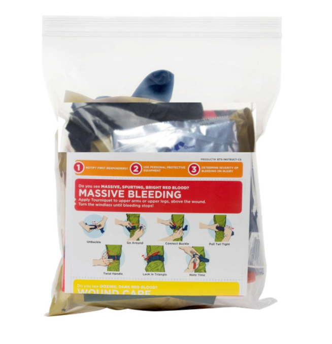 TACMED™ EMERGENCY TRAUMA STATION THROW KIT