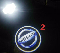 26 Style 2X Ghost Lights Door Step Welcome Lights for Nissan Altima Teana Armada Maxima Titan Quest