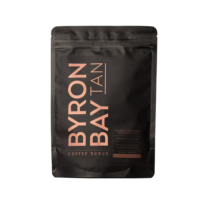 Byron Bay Tan Coffee Scrub