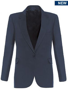 Girls Navy Signature Fitted Blazer