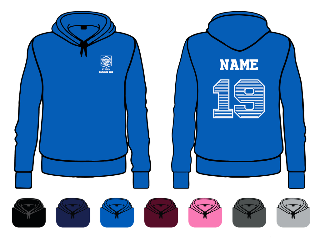 Roding Valley Sixth Form  Leavers Hoody 2019