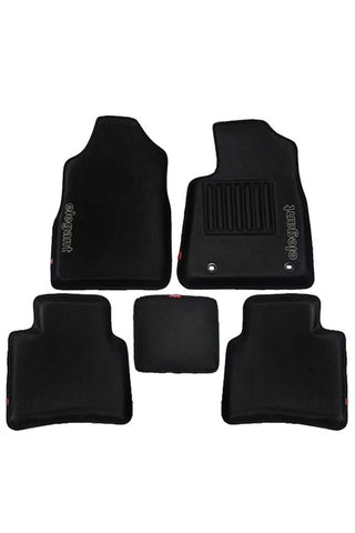 Sportivo 3D Car Floor Mat Black (Set of 5)