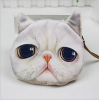 Cat Coin Zipper Pouch (B) - Ohmykitty Online Store