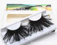Black Light Feather Eyelashes (Halloween / Stage effect) - Ohmykitty Online Store