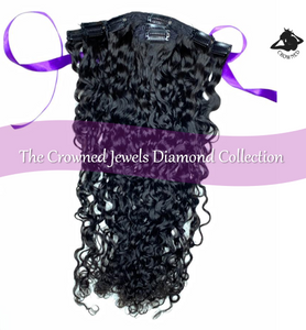 Sapphire Collection - Curly (3C) Clip-Ins