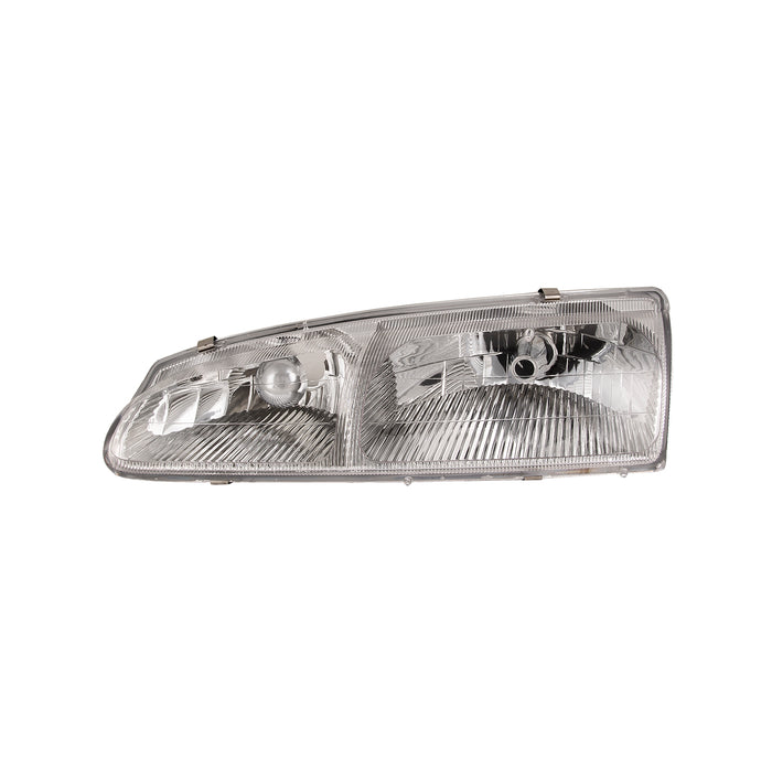 Headlight Left Driver Assembly Fits 1996-1997 Ford Thunderbird/Mercury Cougar