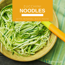 Zucchini Noodles with Mineral-Rich Pesto