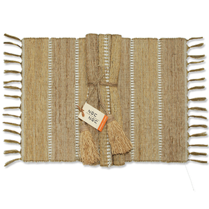 Fair Trade hand woven veitver placemat